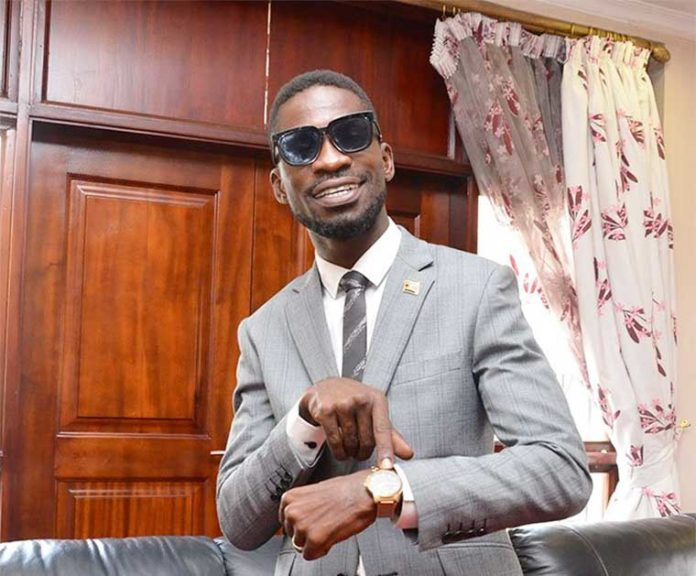 """I can only have a music battle with Chameleon or Bebe Cool if they make a team"" Bobi wine."