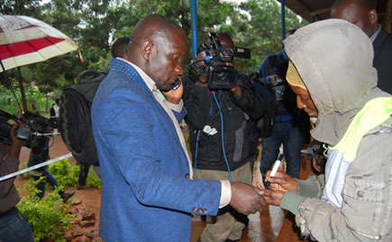 FDC flag bearer Paul Mwiru wins Jinja East By-election.