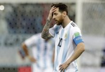 Argentina on the verge or early world cup elimination after Croatia loss