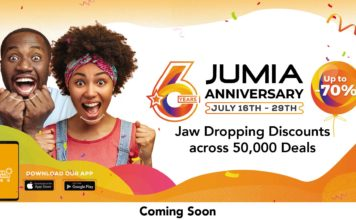 Jumia to celebrate 6 years this month