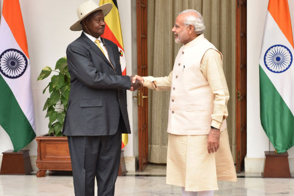 What Uganda benefited from the visit of prime minister Narendra Modi