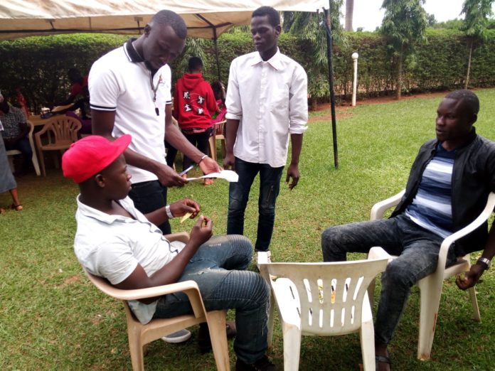 A Ugandan film producer transforming lives of very many youth