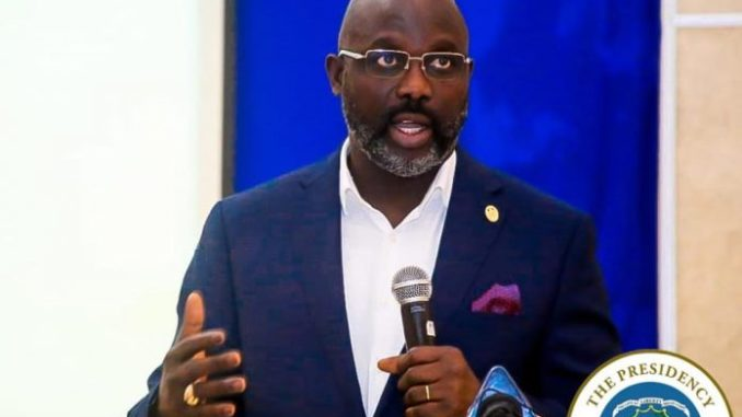 Liberia's president George Weah orders free education for University Students