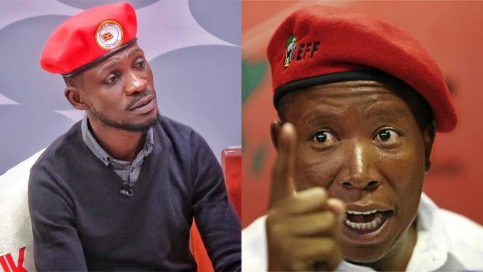 Politics: Bobi Wine and Malema form Anti Dictatorship Movement