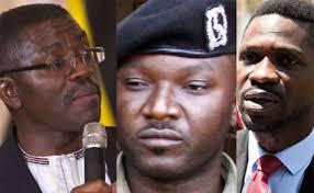 Bobi Wine, Mayiga,  Karuhanga on a list of people to be killed