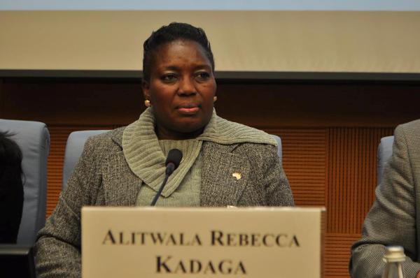 Speaker Kadaga starts Campaign to fight Discrimination of the Disabled