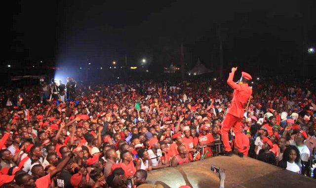 When Police arrested 80 Bobi Wine supporters a Kyarenga
