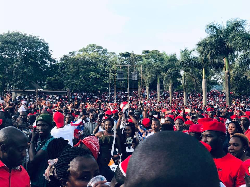 BOBI WINE'S KYARENGA CONCERT A HUGE SUCCESS AMIDST HEAVY DEPLOYMENT