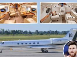 Lionel Messi buys luxurious private jet