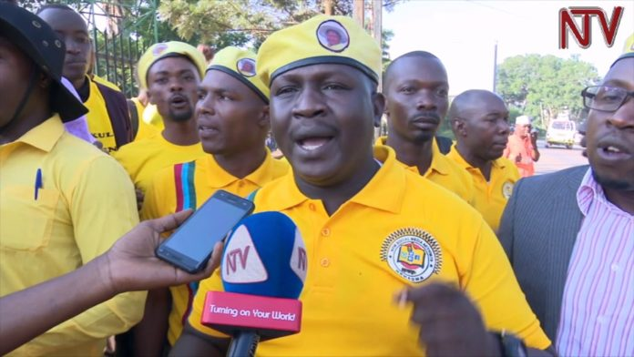 NRM Youths Demonstrate Over British Involvement In Uganda's Political Affairs