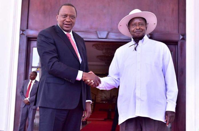 Uganda Rwanda border stand-off: President Keyatta meets his counterparts Kagame and Museveni