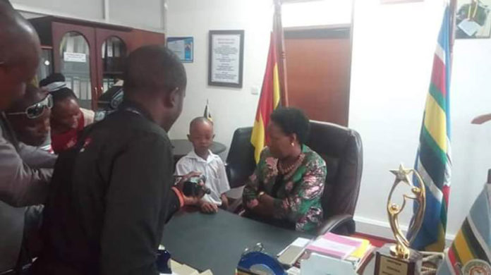Fresh Kid and Minister Nakiwala finally meet
