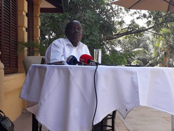 Maj Gen Matayo Kyaligonza, Uganda's Ambassador to Burundi, yesterday Monday the 1st of April 2019, named MP's take to recall him from the diplomatic service 'stupid'. Kyaligonza in this case accused legislators of siding to only one part of the story.