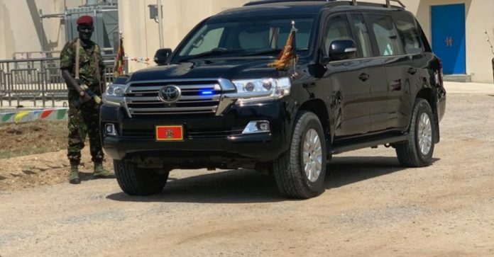 President Museveni's stolen escort car recovered in Kenya