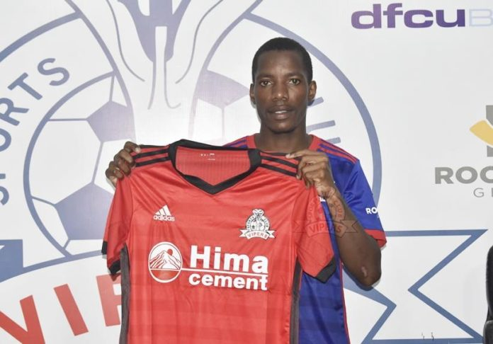 VIPERS FC complete the transfer of Allan Kayiwa from Tooro United