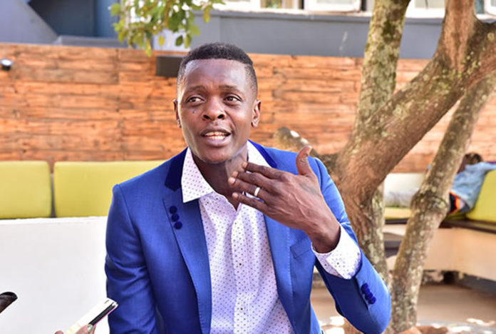 DP officially unveils Jose Chameleon as a party member for Kampala Mayor