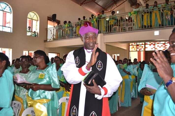 new Archbishop Samuel Kaziimba
