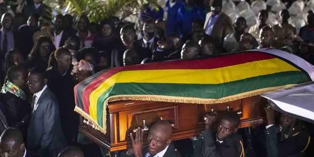 Robert Mugabe Burial plans