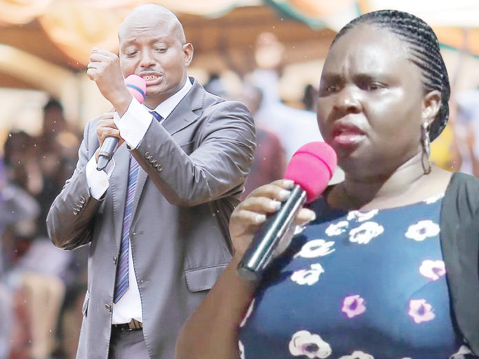 Teddy Naluswa drags husband Pr Bugingo